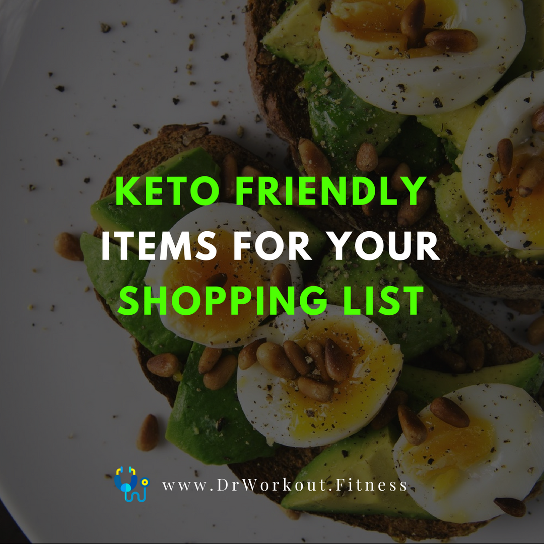 Keto Friendly Items For Your Shopping List