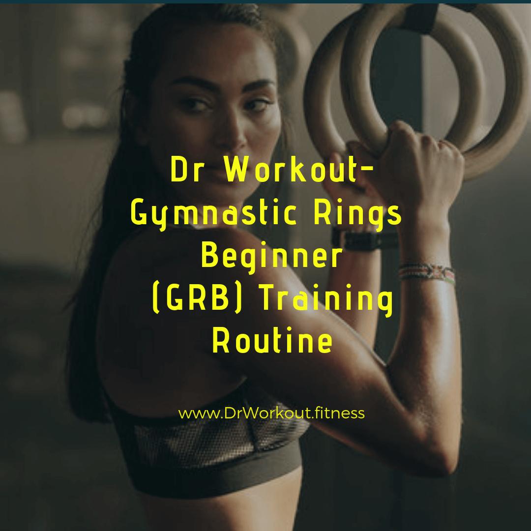 Gymnastic Rings Beginner Training Routine