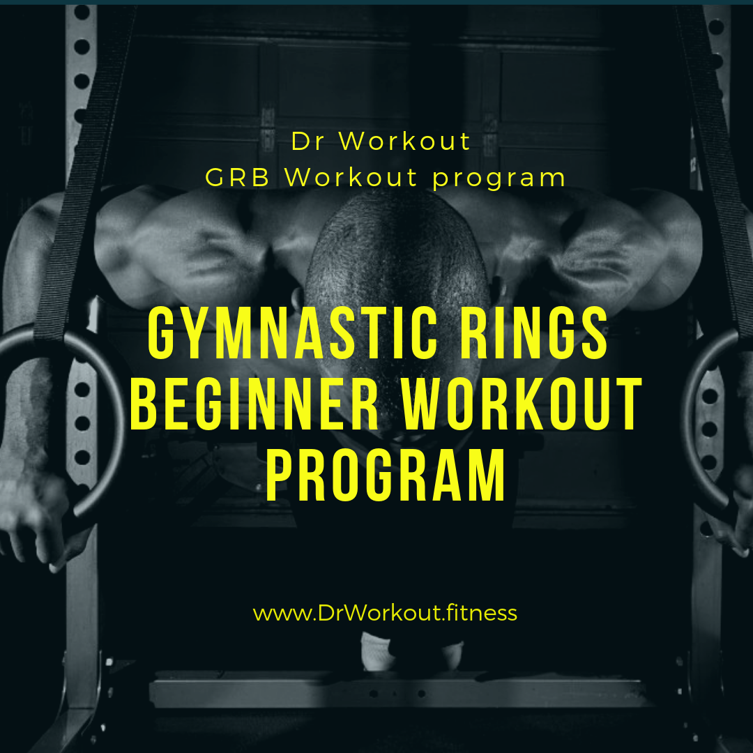 Gymnastic Rings Workout Routine for Beginners (GRB Workout)