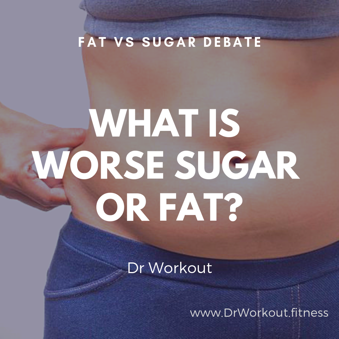 Fat Vs Sugar Debate: Is sugar or fat worse?