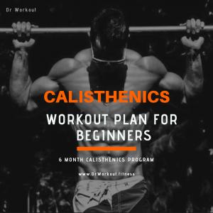 Calisthenics Workout Plan for Beginners – 6 Month Calisthenics Program