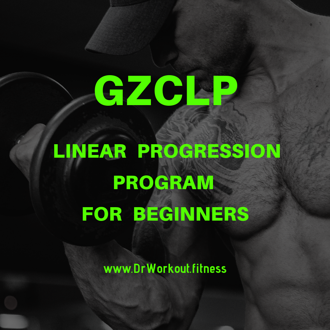 GZCLP linear progression workout program for beginners