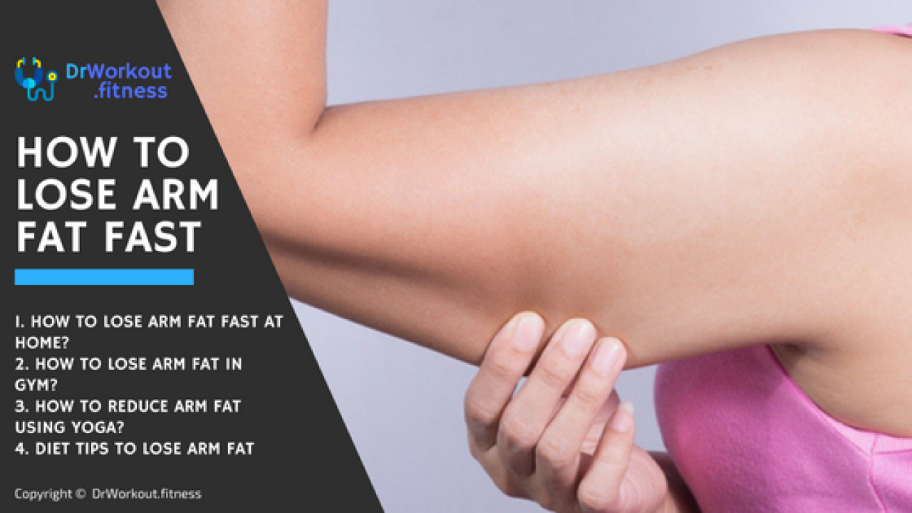 How to lose arm fat in a week at home