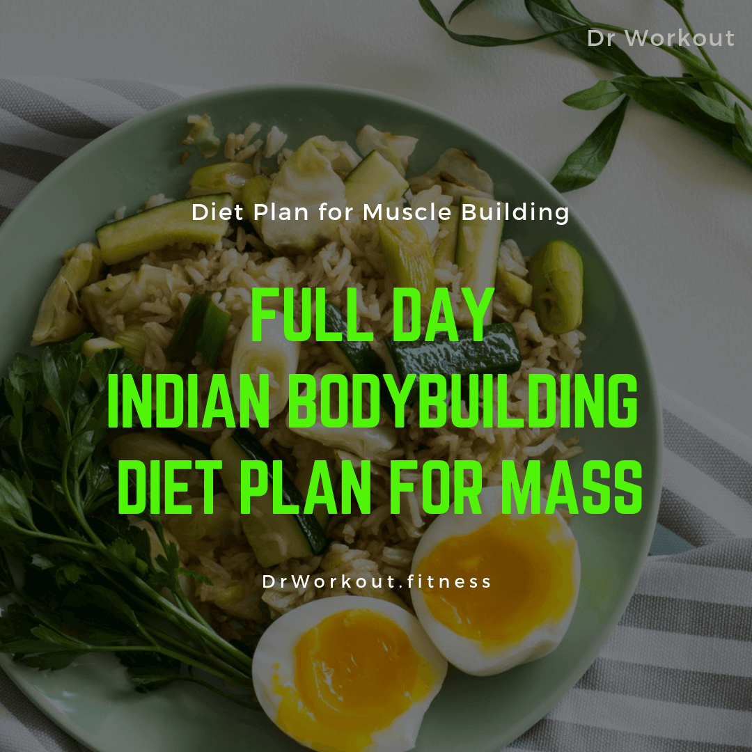 Indian Bodybuilding Diet Plan for Muscle Building