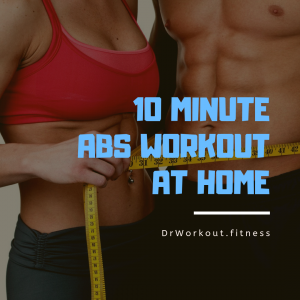 10 Minute Abs Workout at Home