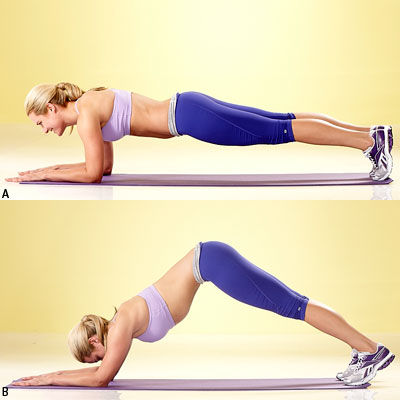How to do Dolphin Plank or Inverted V Plank