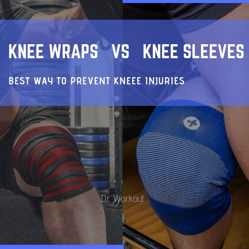 Knee Wraps vs Knee Sleeves (A Helpful Guide)