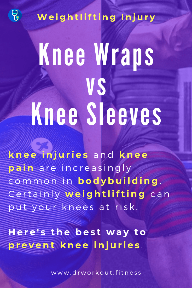 Knee Wraps vs Knee Sleeves Bodybuilding