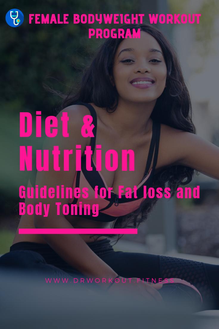 Diet Plan for Female Bodyweight Workout Program