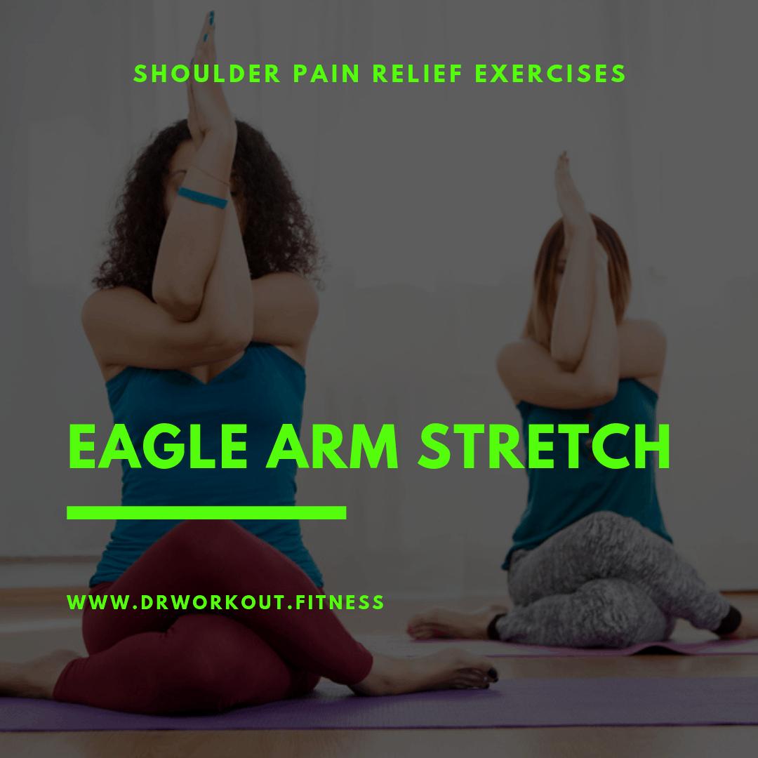 Eagle arm stretch