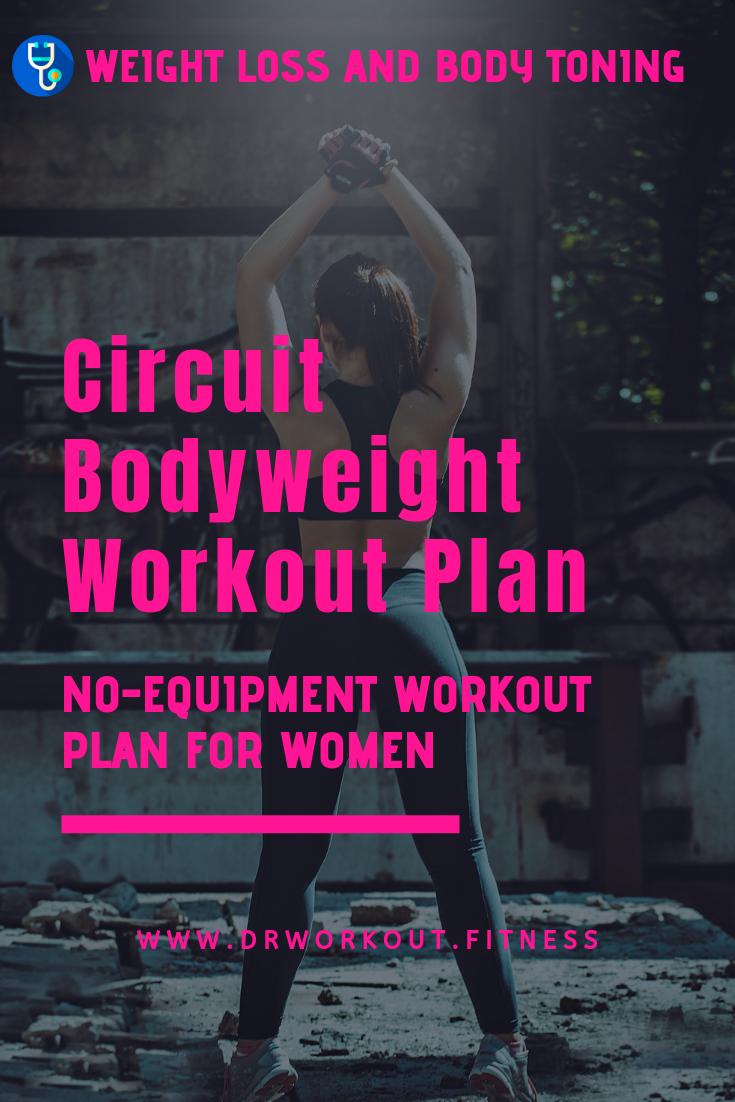 No Equipment Bodyweight Workout Plan for Females