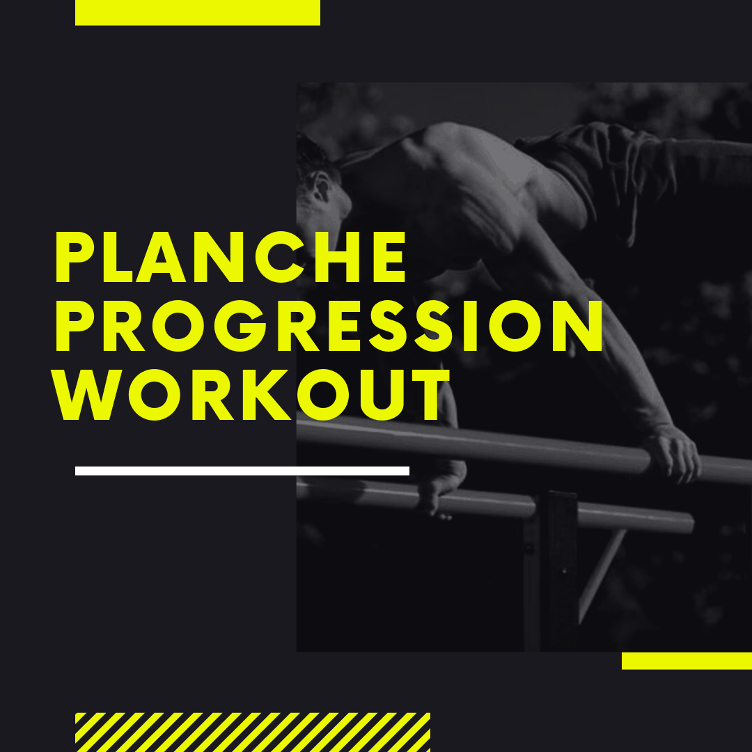 Planche Progression Workout