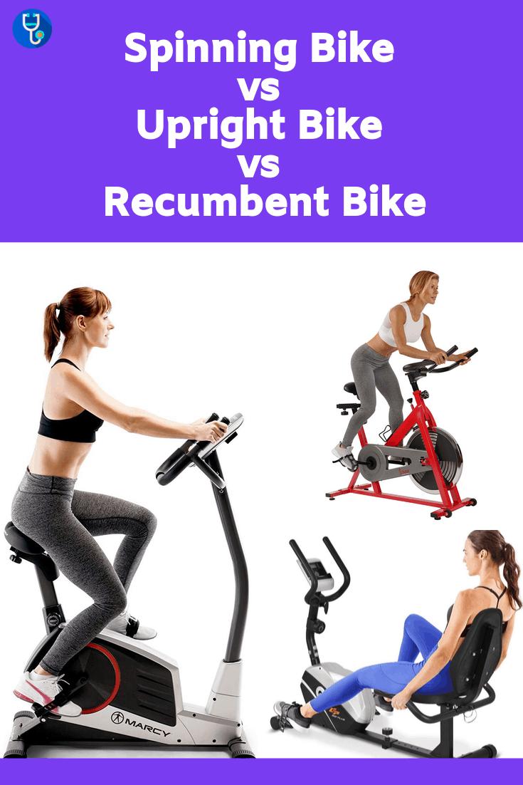 Spinning Bike vs Upright Bike vs Recumbent Bike