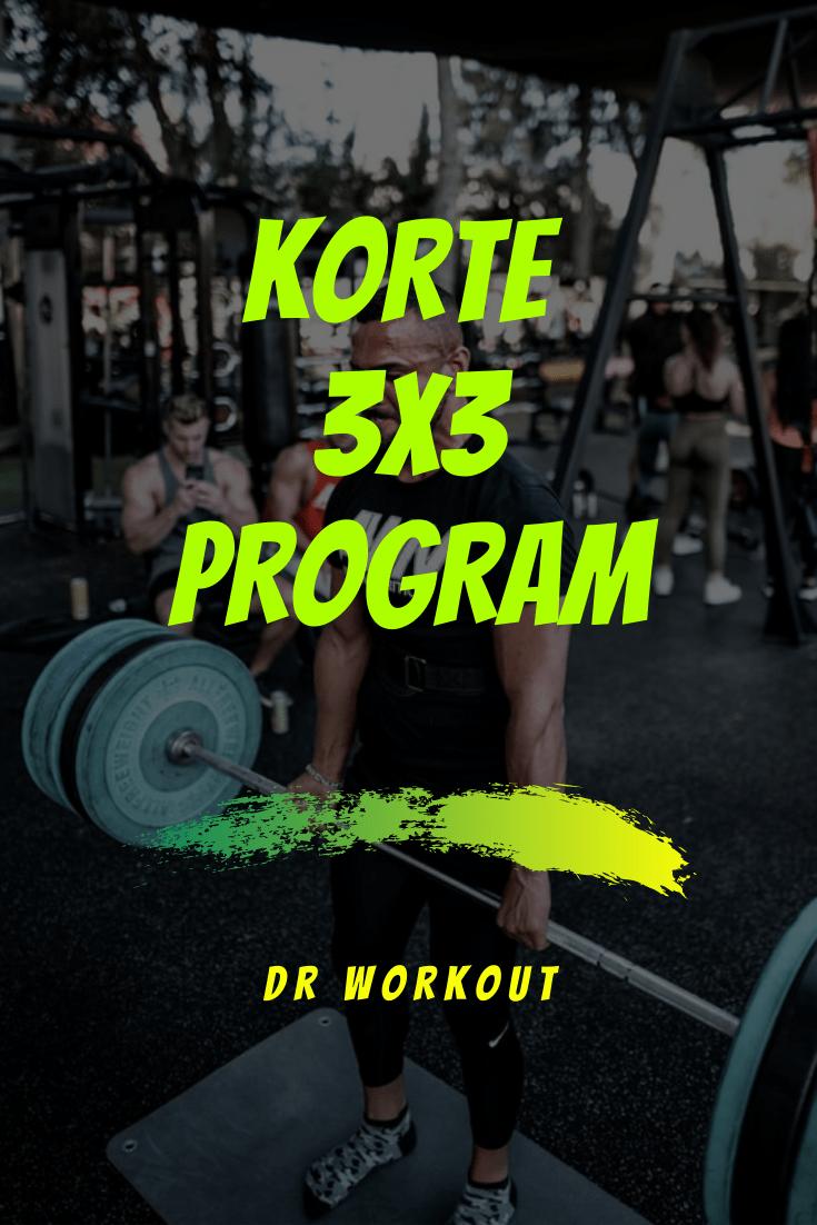 Korte 3x3 Program