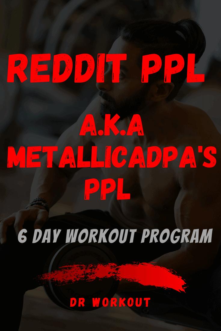 Reddit PPL (Metallicadpa PPL)