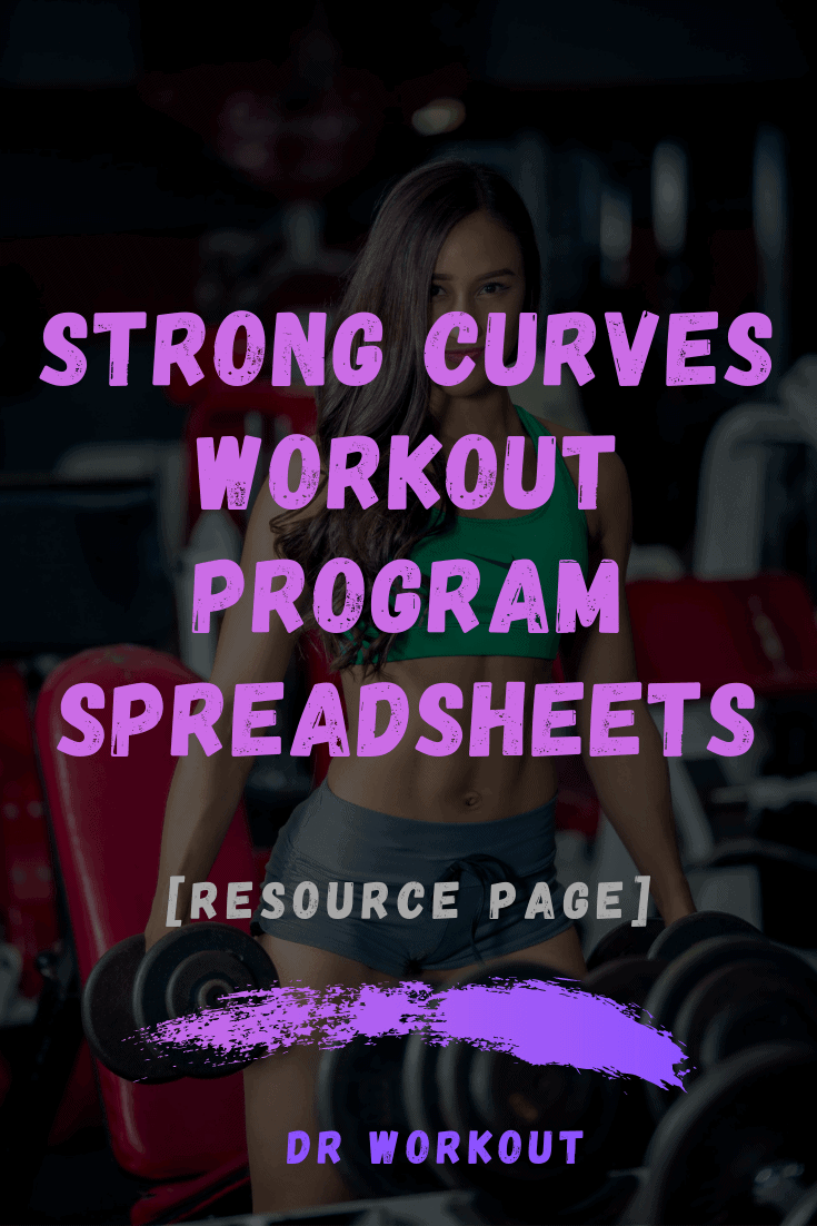 Strong Curves Spreadsheet