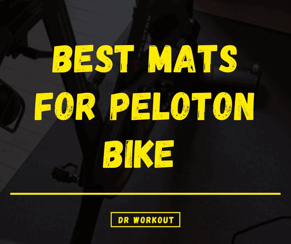 Best Mats for Peloton Bike