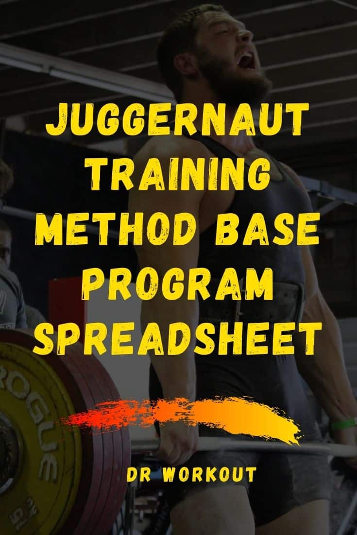 Juggernaut Training Method Base Program