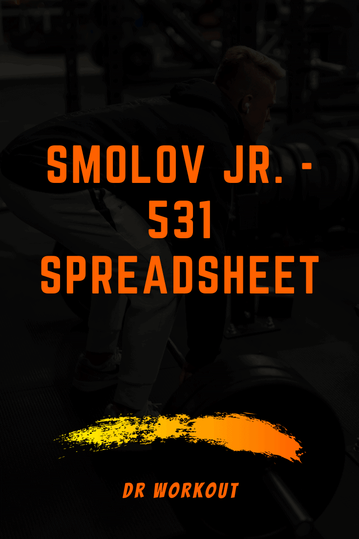 Smolov Jr. - 531 spreadsheet