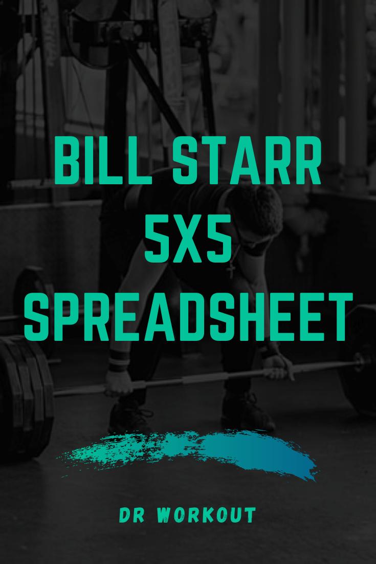 Bill Starr 5x5 Spreadsheet