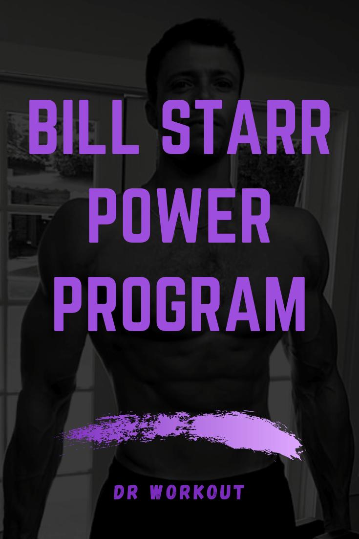 Bill Starr Power Routine