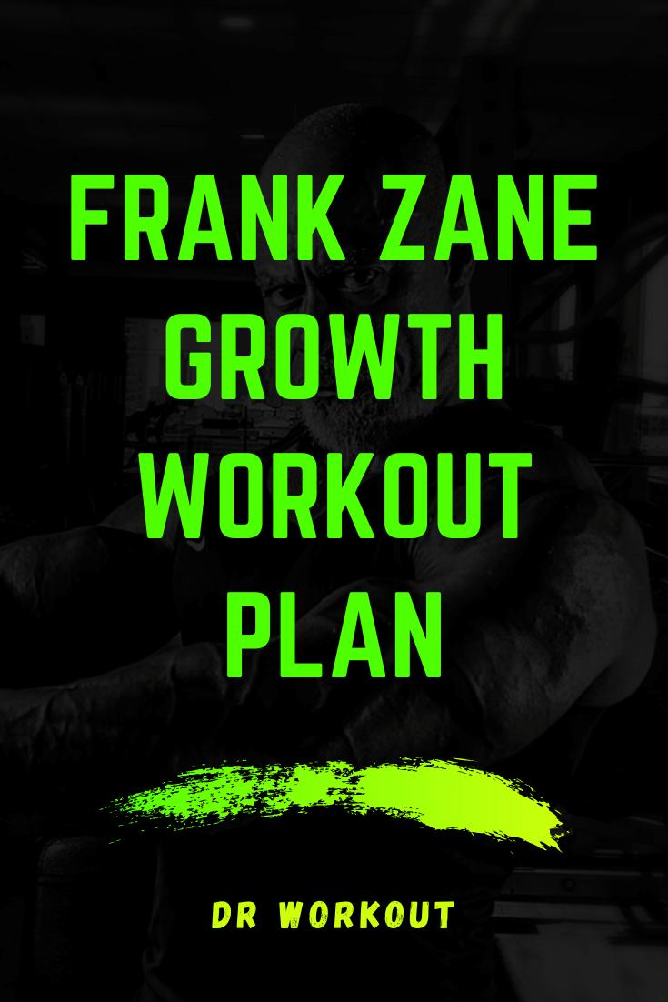Frank Zane Workout Plan