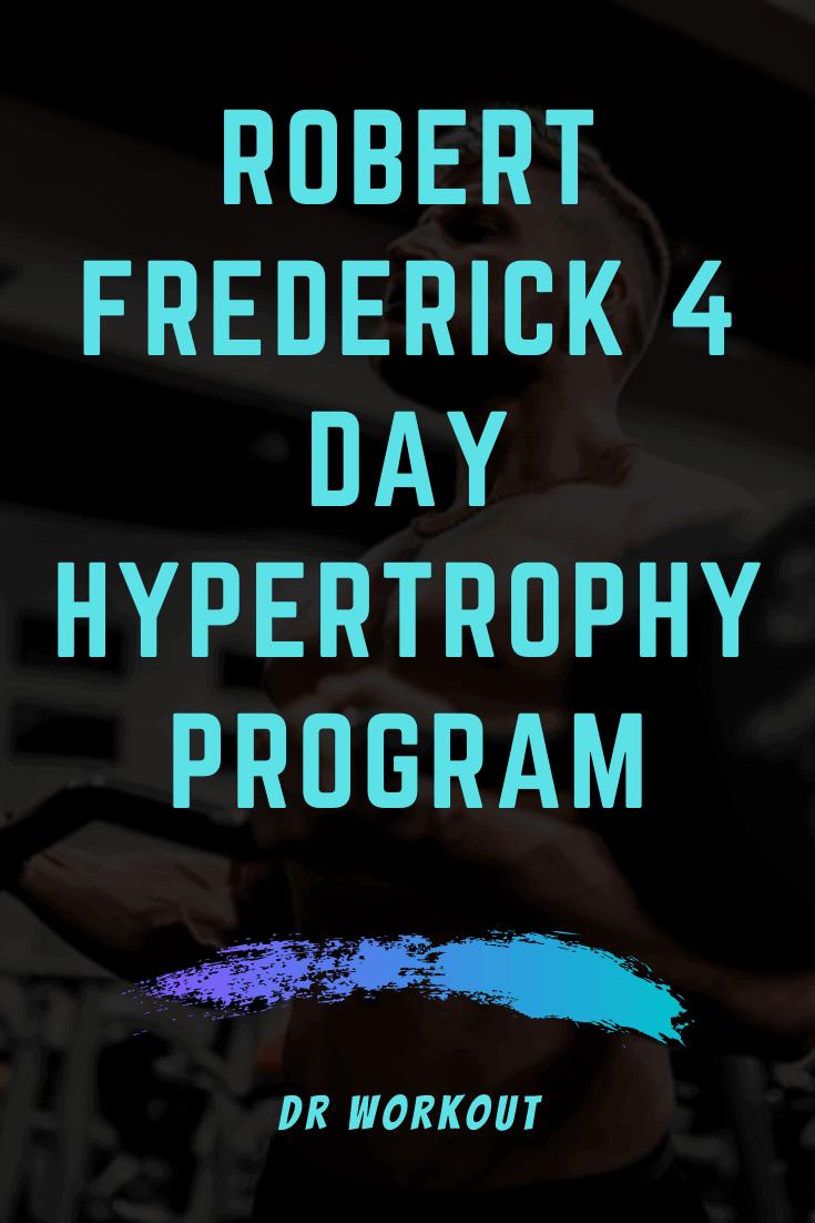 Robert Frederick Hypertrophy Program Spreadsheet