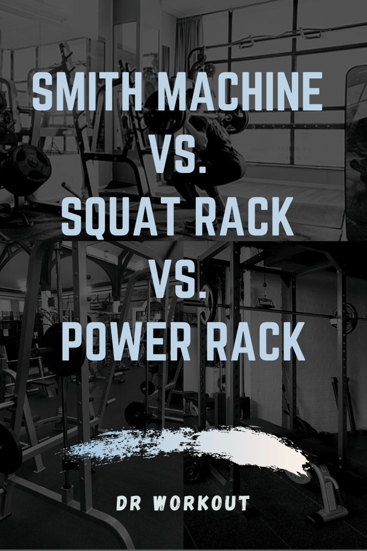 Smith Machine vs Squat Rack vs Power Rack