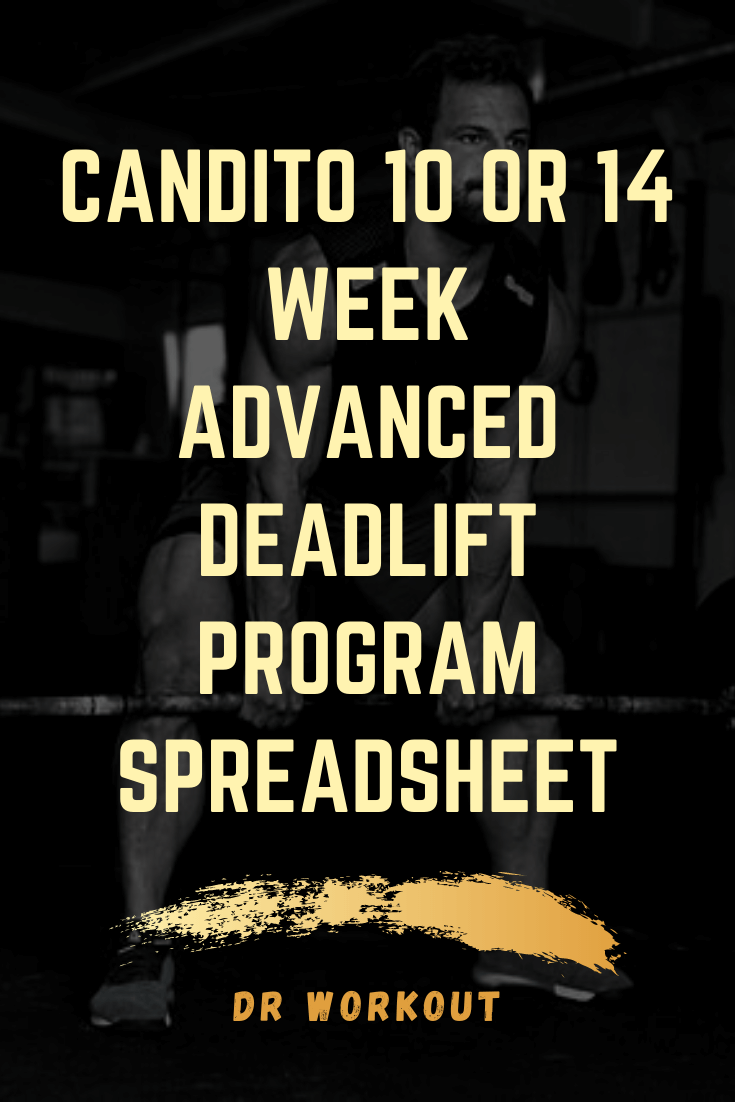 Candito Advanced Deadlift Program