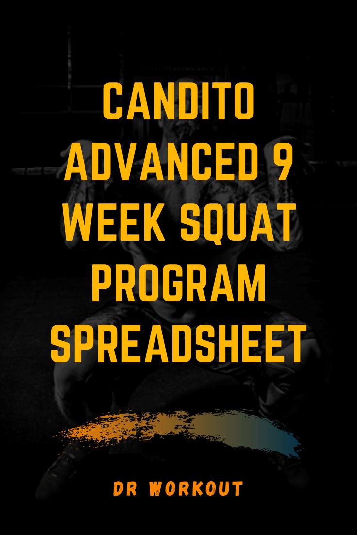 Candito Advanced 9 Week Squat Program