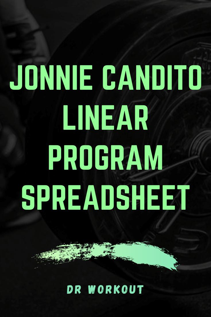 Jonnie Candito Linear Program