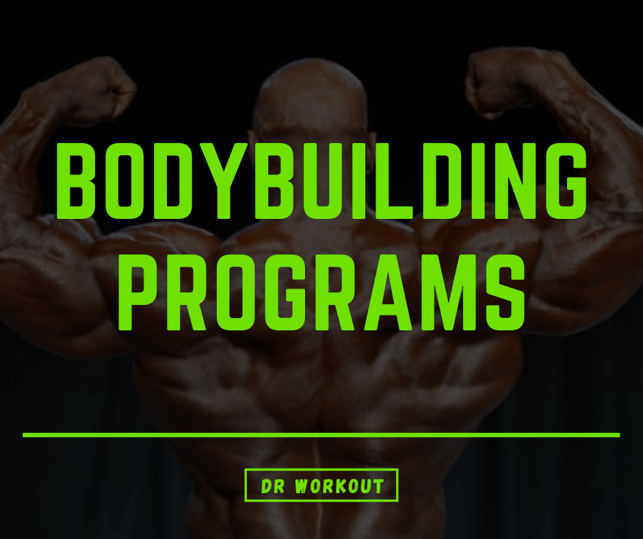 Bodybuilding Programs