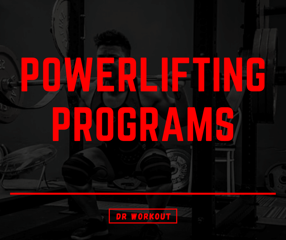 Powerlifting Programs