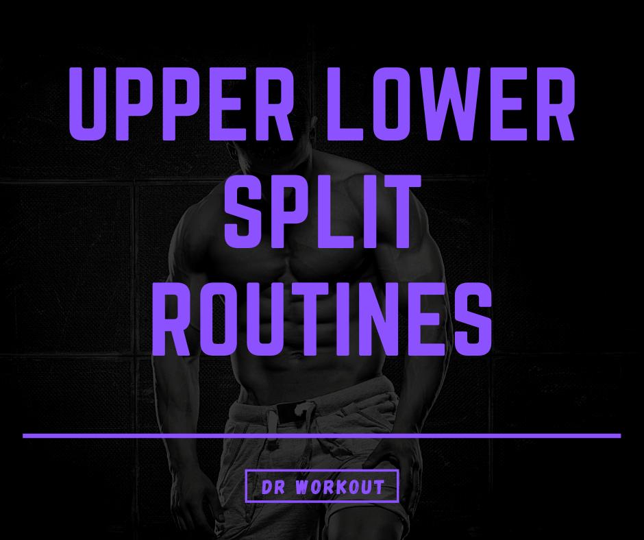 Upper Lower Split Routines
