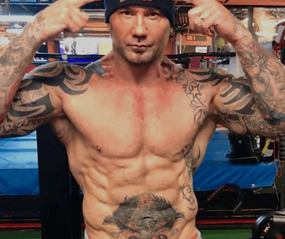 Dave Bautista Workout