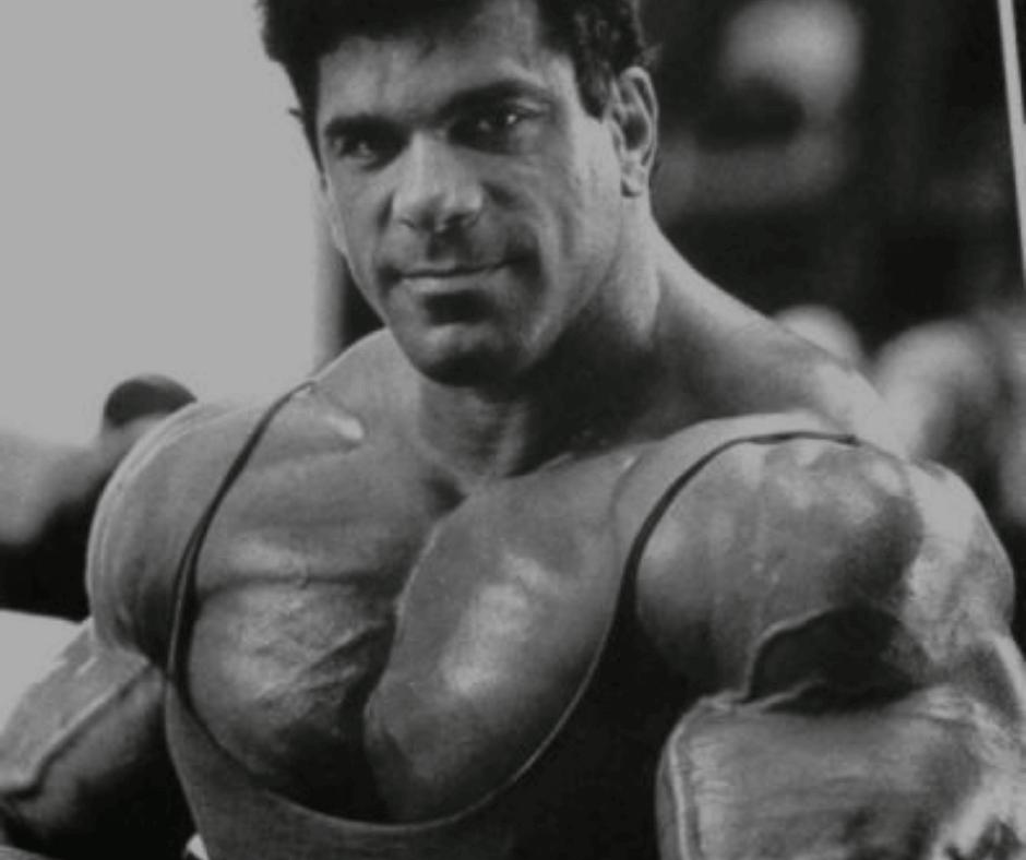 Lou Ferrigno Workout Plan