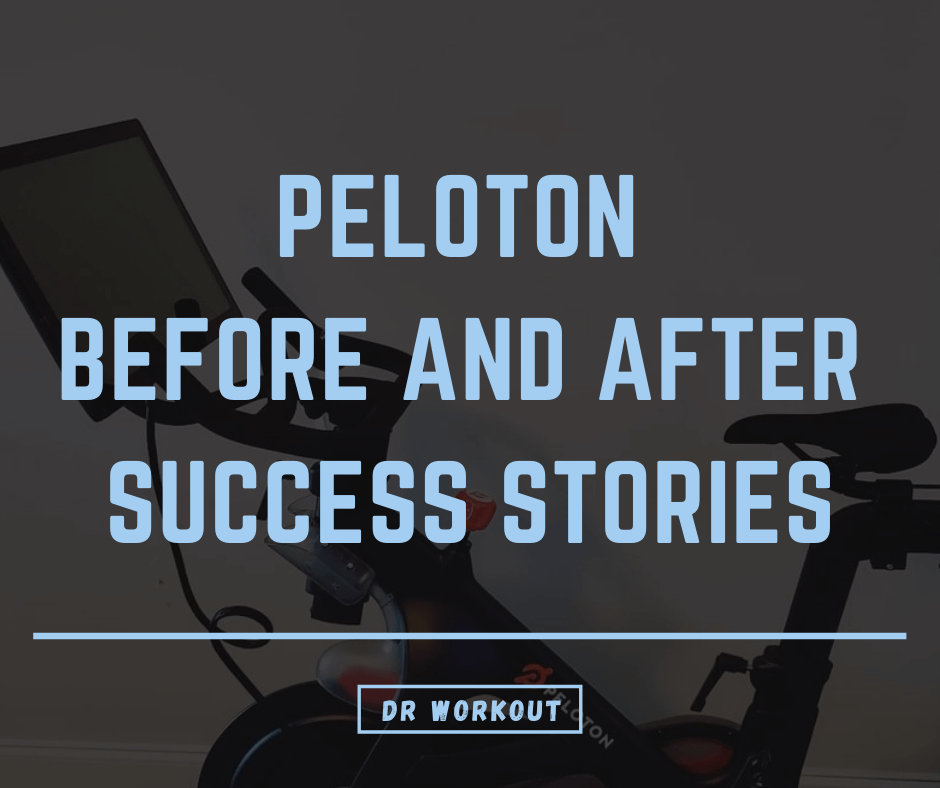 Peloton before and after pics