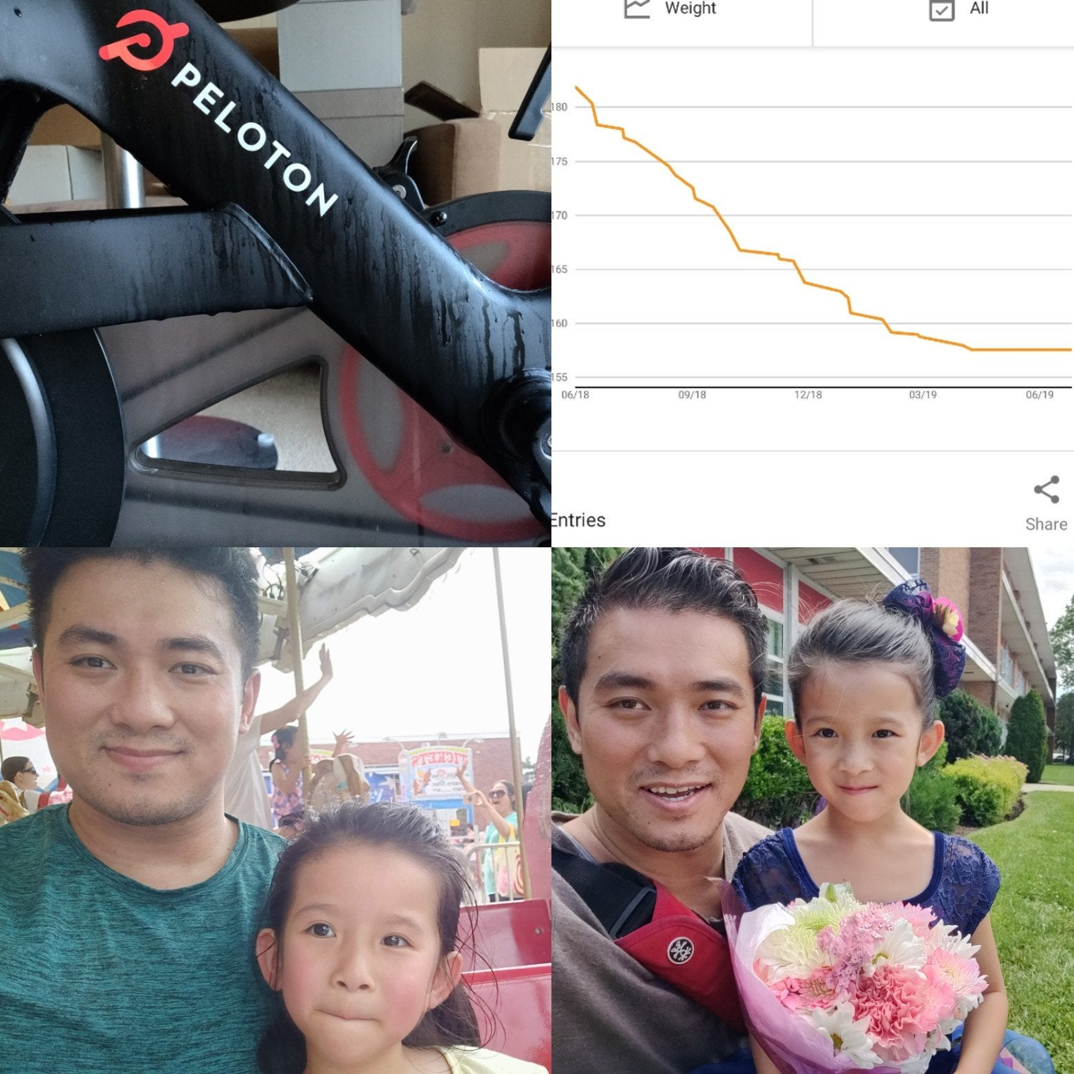 Scroller52 peloton before and after