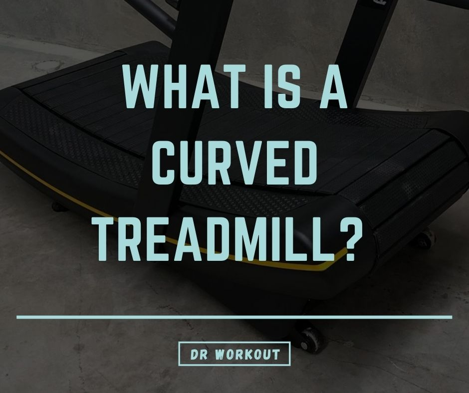 What is a curved treadmill