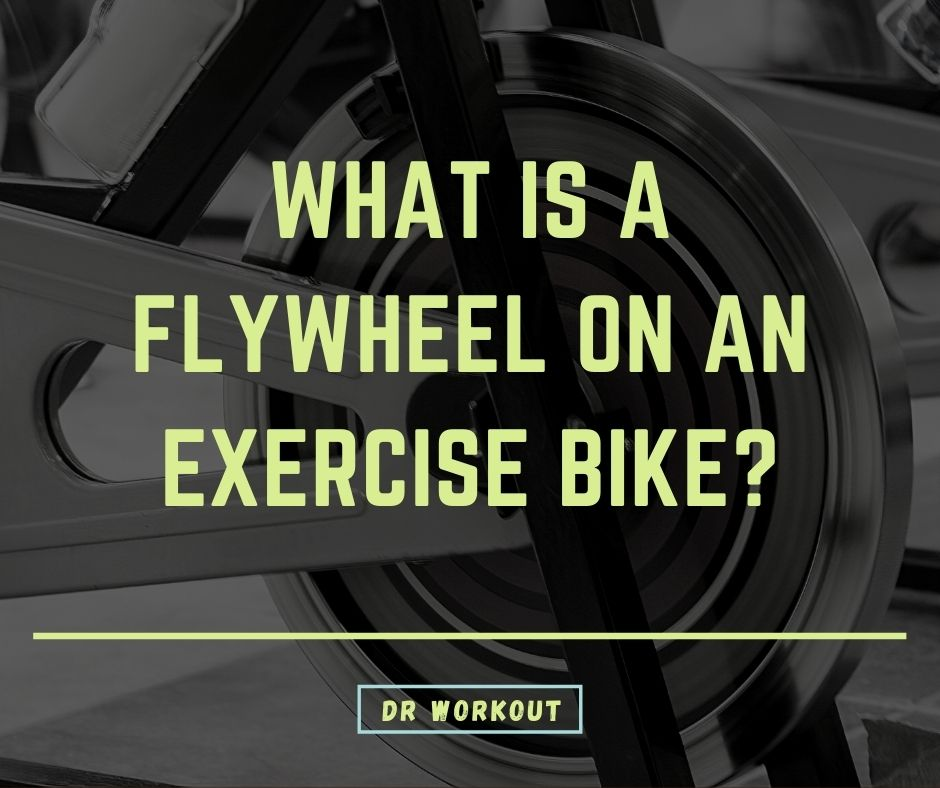 What is a flywheel on an exercise bike