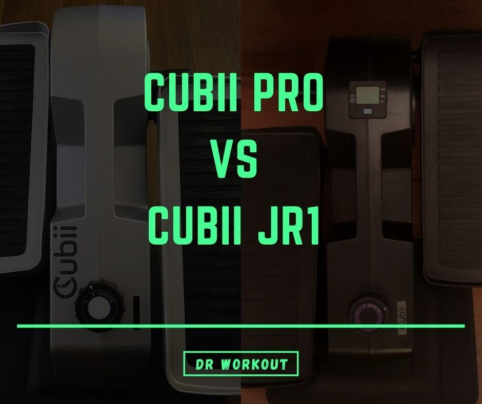 Cubii Pro vs Cubii JR1