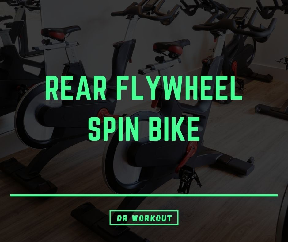 Rear Flywheel Spin Bike