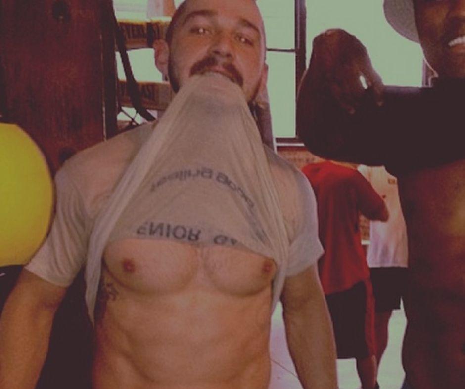 Shia LaBeouf Workout