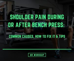 Shoulder Pain Bench Press