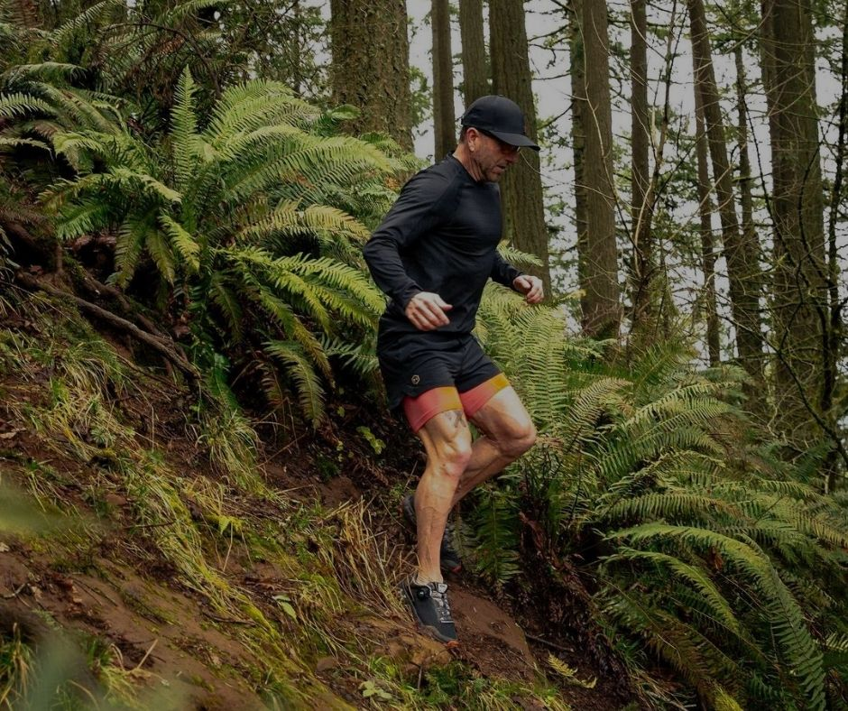 Cameron Hanes running routine