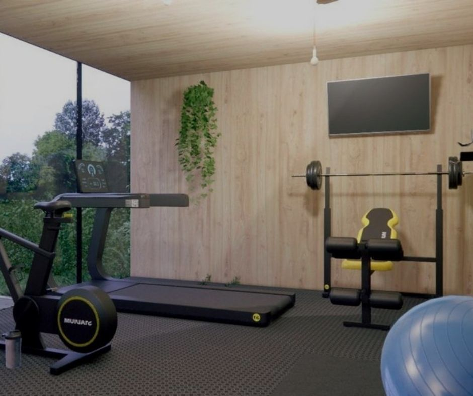 Another Shed Gym Idea
