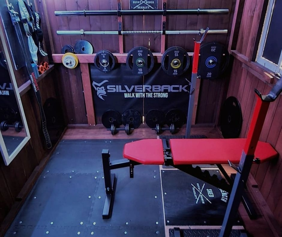 Chris Haywood's Shed Gym