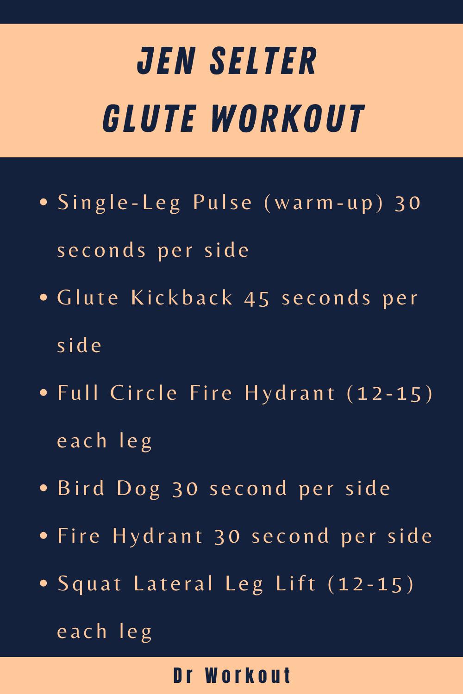 Jen Selter Glute Workout