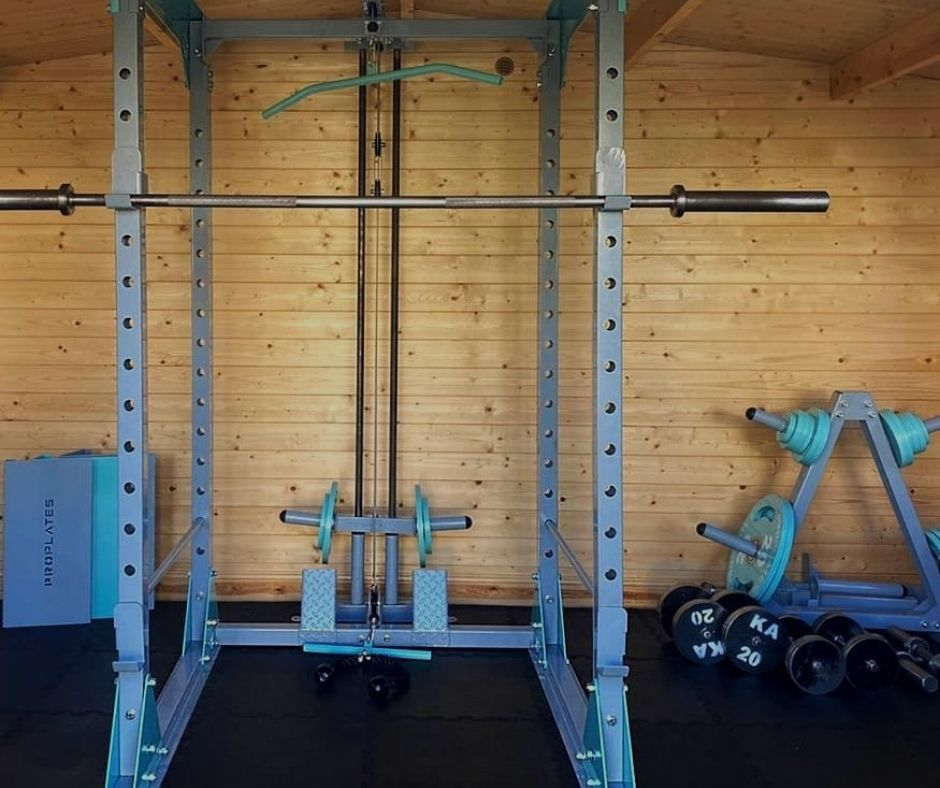 Laura Canner's Shed Gym