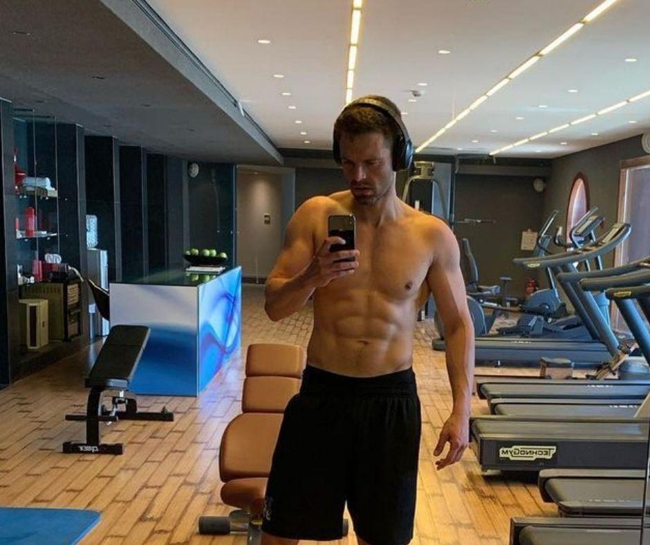 Sebastian Stan Workout